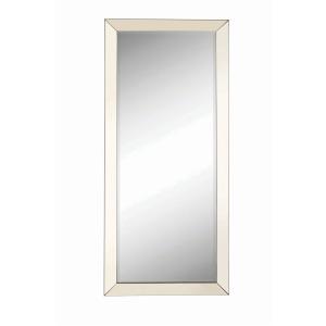 Rectangular Floor Mirror Silver