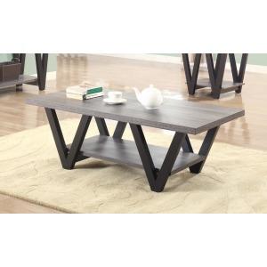 Mid-Century Modern Black Coffee Table