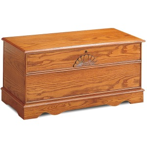 Traditional Oak Honey Chest