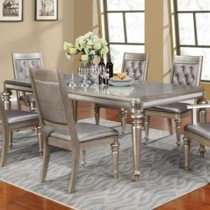 Danette Rectangular Dining Table with Leaf