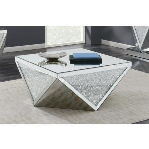 Contemporary Silver Coffee Table