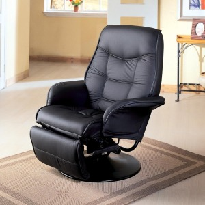 Berri Swivel Recliner with Flared Arms