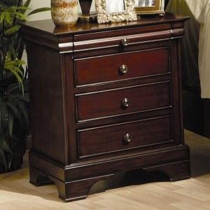 Versailles 3 Drawer Nightstand