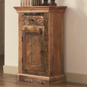 Accent Cabinets Petite Rustic Cabinet
