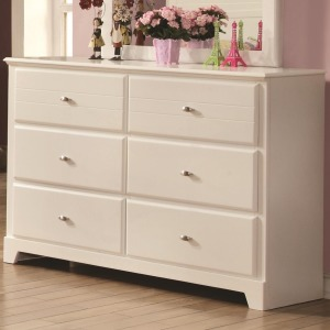 Ashton Collection Dresser with 6 Drawers