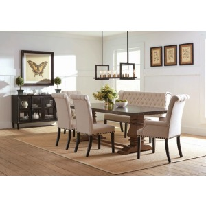 Mapleton 6 PC Dining Set