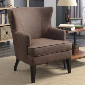 Accent Seating Accent Chair with Winged Back
