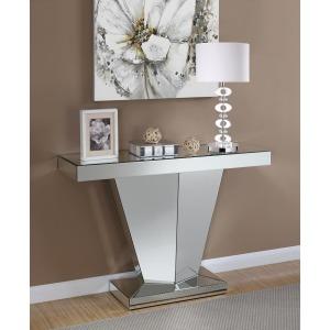 Contemporary Silver Console Table