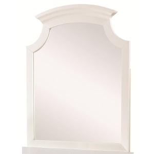 Bethany Cottage Style Dresser Mirror with Crown Molding