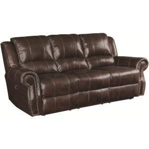 Sir Rawlinson Burgundy Brown Motion Sofa, Loveseat and Recliner