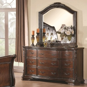Maddison Drawer Dresser w/ Mirror