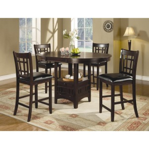 Lavon 7 Piece Counter Table and Chair Set