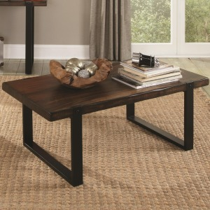 70342 Coffee Table with Rustic Look