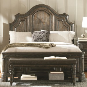 Carlsbad Queen Panel Bed with Framing
