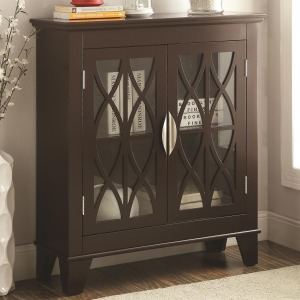 Accent Cabinets Accent Cabinet w/ Glass Doors