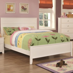 Ashton Collection Twin Bed with Framing Details