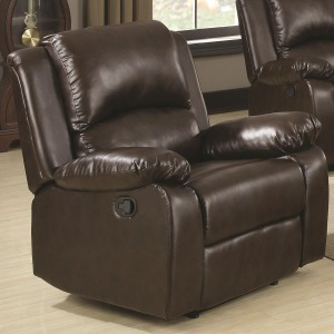 Boston Casual Recliner with Pillow Arms