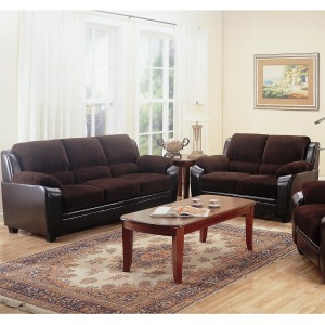 Monika 2 Piece Stationary Loveseat and Sofa Group