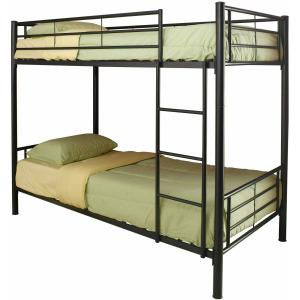 Hayward Twin Over Twin Bunk Bed Black