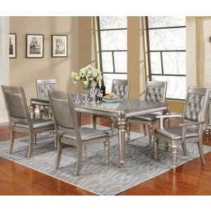 Danette Rectangular Dining Table Set with Leaf