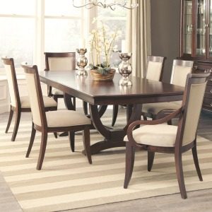 Alyssa Dining Table and 4 Side Chair and 2 Arm Chair Set