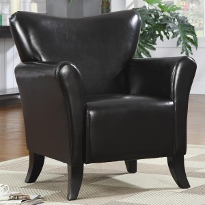 Accent Seating Contemporary Vinyl Upholstered Chair