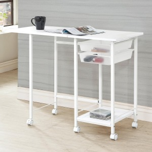 Desks Folding Desk with Casters