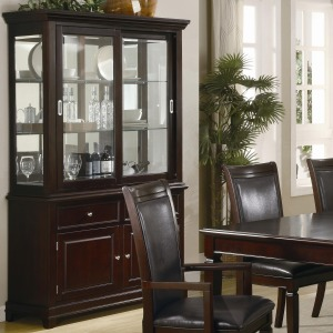Ramona Formal Dining Room Buffet with Hutch