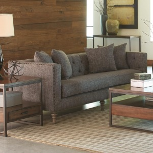 Ellery Sofa with Traditional Industrial Style