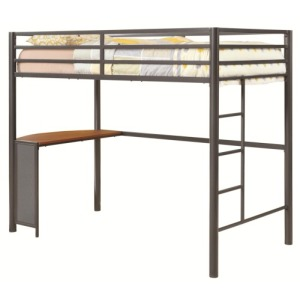 Bunks Twin Metal Workstation Loft Bed