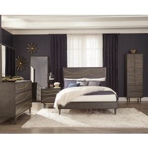 Tarah Queen Bed Graphite
