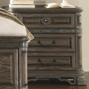 Carlsbad Night Stand with 3 Drawers