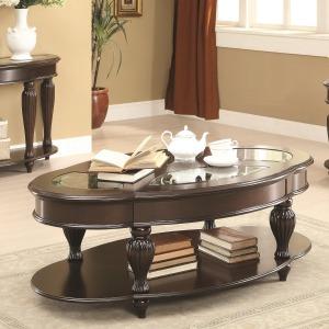 70384 Cocktail Table w/ Lower Shelf