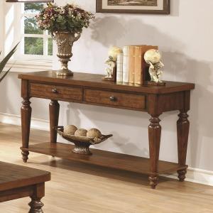 70357 Console Table w/ Lower Shelf