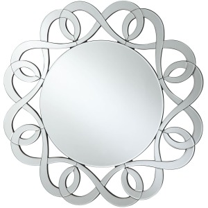 Accent Mirrors Round Frameless Mirror