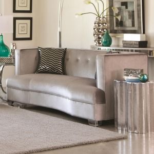 Caldwell Loveseat with Contemporary Style