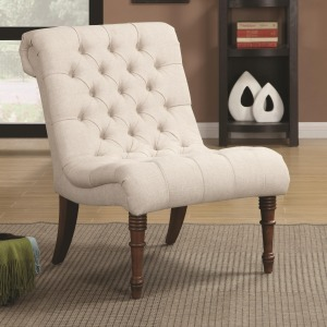 Accent Seating Curved Accent Chair