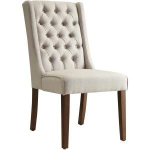 Accent Seating Accent Chair/Side Chair with Tufted Back