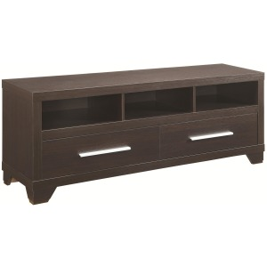 Wall Units TV Stand with 3 Shelves and 2 Doors