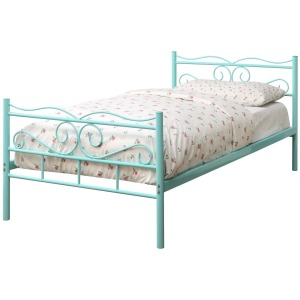 Iron Beds and Headboards Twin Bailey Metal Bed
