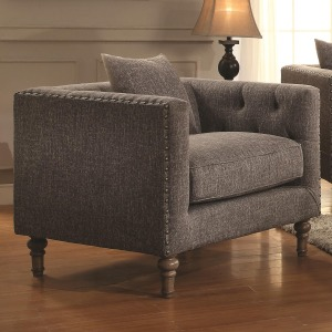 Ellery Chair with Traditional Industrial Style