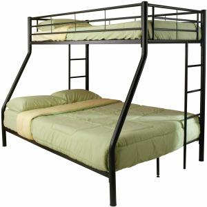 Hayward Twin Over Full Bunk Bed Black