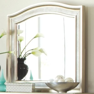 Bling Game Mirror with Arched Top