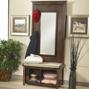 Accents - Coat Racks and Hall Trees Hall Tree and Coat Rack