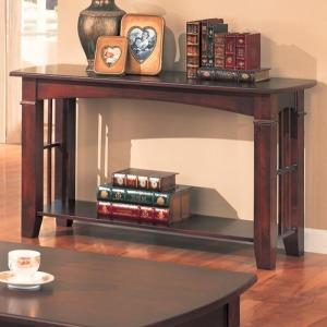 Abernathy Sofa Table with Shelf