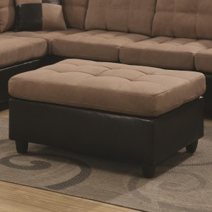 Mallory Casual and Contemporary Ottoman