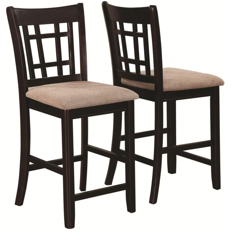 Lavon Casual Lattice Back Counter Height Stool