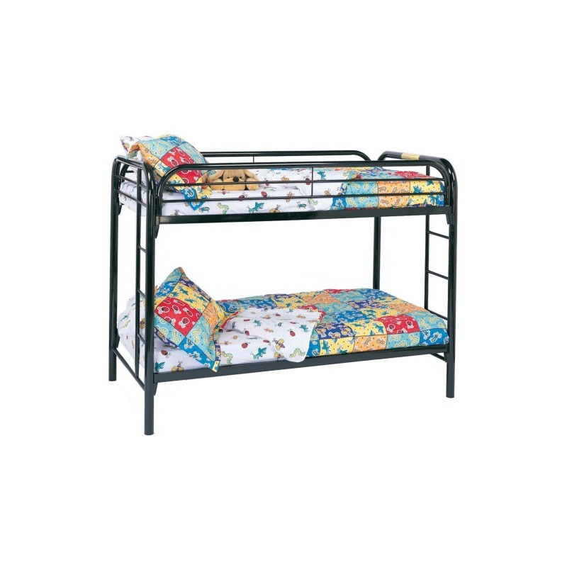 Fordham Twin Over Twin Bunk Bed with Built-In Ladders