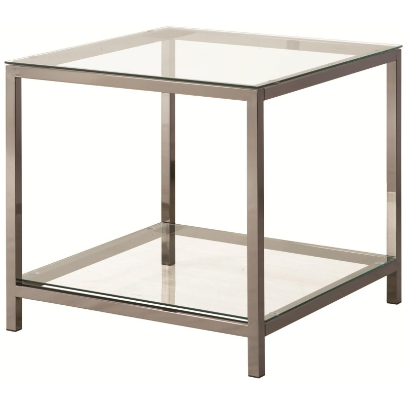 72022 End Table with Shelf