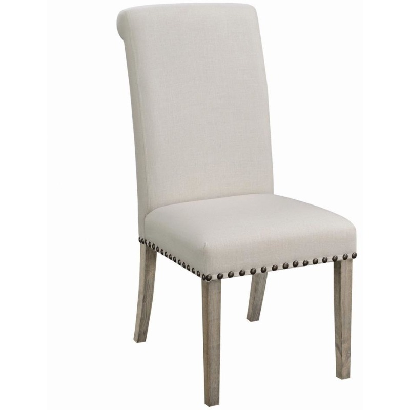 Taylor Beige Upholstered Parson Dining Chair